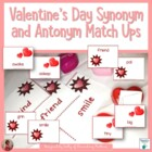 Valentine Synonym or Antonym Match Up