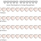 Valentines Candy Heart Patterning {FREEBIE}