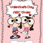 Valentine's Day ABC Order (FREEBIE)