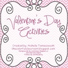 Valentine's Day Activities {{Feb. 14th}}