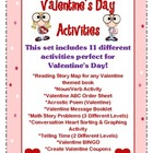Valentine's Day Activity Set
