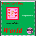 Valentine's Day Around the World 8 page unit illustrated
