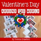 Valentine's Day Around the World - Activities, Glyph, Passport
