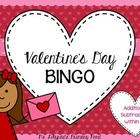 Valentine's Day BINGO for Second {Addition & Subtraction +
