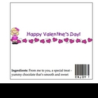 Valentine's Day Candy Bar Wrapper