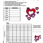 Valentine's Day Candy Heart Graphing
