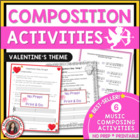 Valentine's Day Composition Activities