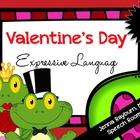 Valentine's Day Expressive Language Packet