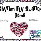 Valentine's Day Fly Swatter Rhythm Game SMART Board