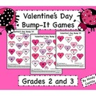 Valentine's Day Math- Bump It! Games