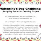 Valentine's Day Graphing - Analyzing Data/Creating Bar Gra