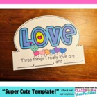 FREE Valentine's Day Headband Hat