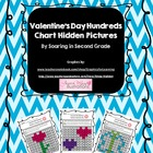 Valentine's Day Hundreds Chart Hidden Picture Set
