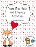 Valentine's Day Language Arts and Math Fun