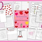 Valentine's Day Literacy Centers, Worksheets, & Activities
