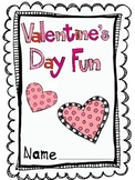 Valentine's Day Literacy and Math Fun!
