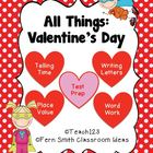 Valentine's Day - Math and Literacy Lessons FS