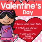 Valentine's Day Pack {Math and Literacy Activities}