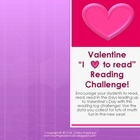 "Valentine's Day Reading Log Challenge ""Plus"""