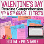 Valentine's Day Reading Skills Pack {Common Core Aligned}