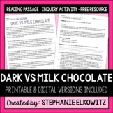Valentine's Day Science Investigation: Dark vs. Milk Chocolate