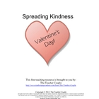 Valentine's Day Spreading Kindness
