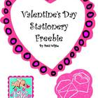 Valentine's Day Stationery Freebie