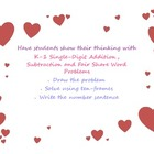 Valentine's Day Word Problem Set