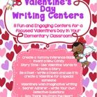 Valentine's Day Writing Fun Centers for The Intermediate C
