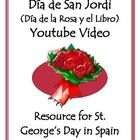 Valentine's Day in Spain - Día de la Rosa y el Libro Video