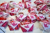 Valentines Day student gift (Sucker Pouches-set of 24)