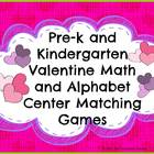 Valentine's Math and Literacy Center Games