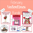 Valentines Math and Literacy Mega Bundle