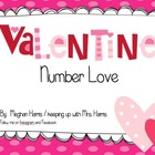 Valentine's Number Love