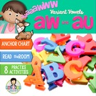 Variant Vowels: aw, au ~Aaaaww!~ Activity Pack
