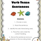 Verb Tense Sentences Center