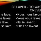 Verbes reflechis (Reflexive verbs in French) power point
