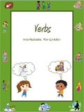 Verbs ( Action Words ) Worksheets for Grade 1