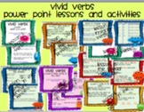 Verbs   Power Point Presentation aligned to CCSS
