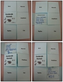 Vertebrate and Invertebrate Animal Flip Book and Sorting A
