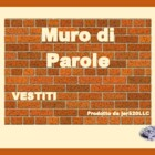 Vestiti (Clothing in Italian) word wall