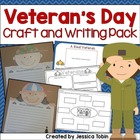 Veteran's Day Craftivity and Writing Pack