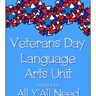 Veterans Day Language Arts Unit