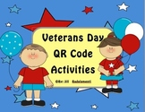 Veterans Day QR Code Activities