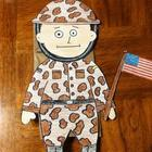 Veterans Day Soldier Puppet