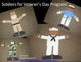 Veteran's Day Soldiers Large