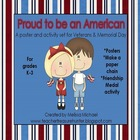 Veterans & Memorial Day Pack ~ Teaching Posters ~ Activiti