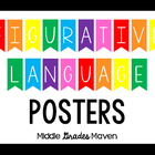 Vibrant Figurative Language Posters