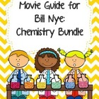 Video Worksheets for Bill Nye - Chemistry Bundle