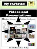 My Favorite VIDEOS: 96 Links to FREE Teen Videos and Prese